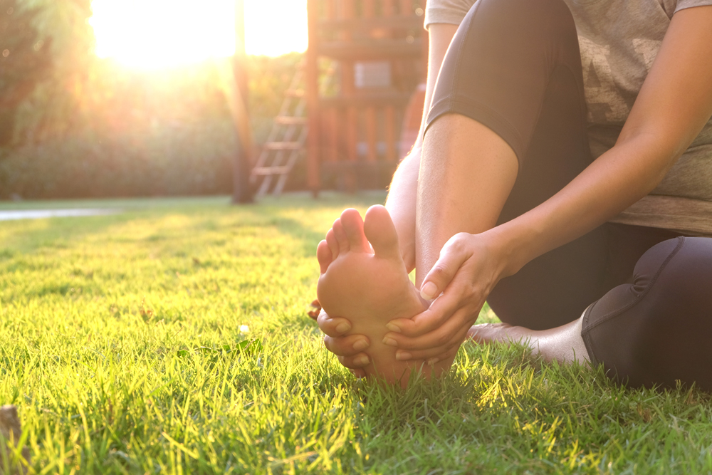 Foot pain with our Chesapeake Chiropractor